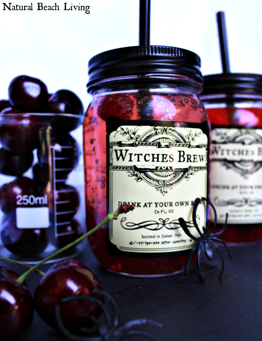 Witches brew is the perfect halloween drink natural for Halloween alcoholic punch bowl recipes