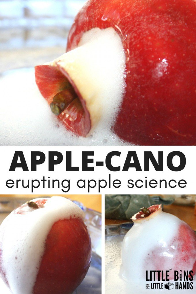 Apple-Science-with-an-erupting-APPLE-CANO-baking-soda-vinegar-experiment-680x1020