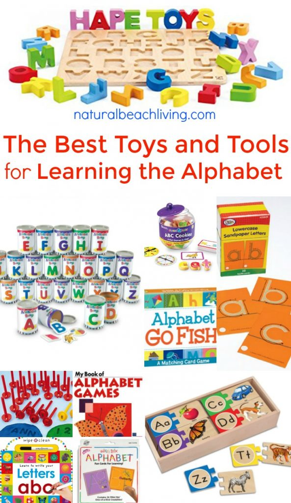 Preschool Learning Toys : Of the best ways to teach alphabet natural beach