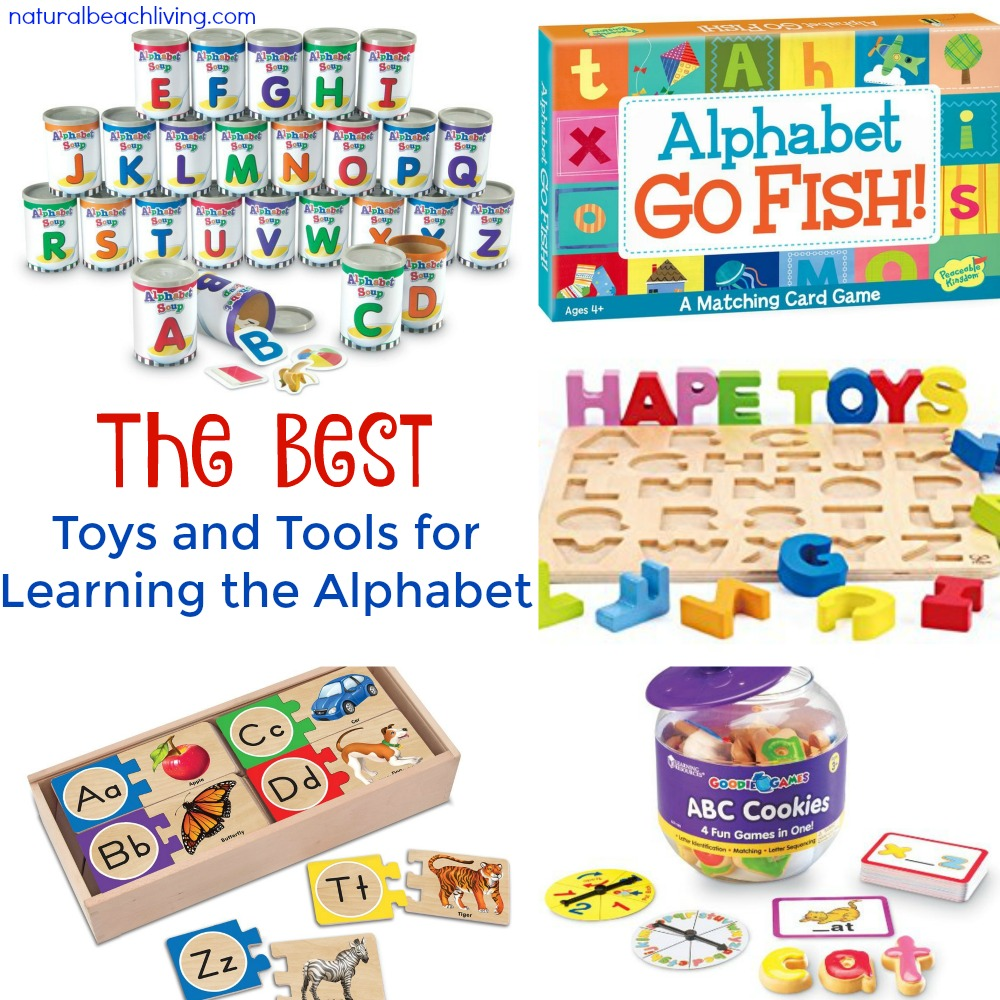 The Best Toys and Tools for Learning the Alphabet, Hands on learning, Preschool Gifts, alphabet games, Montessori alphabet ideas, Teaching the Alphabet