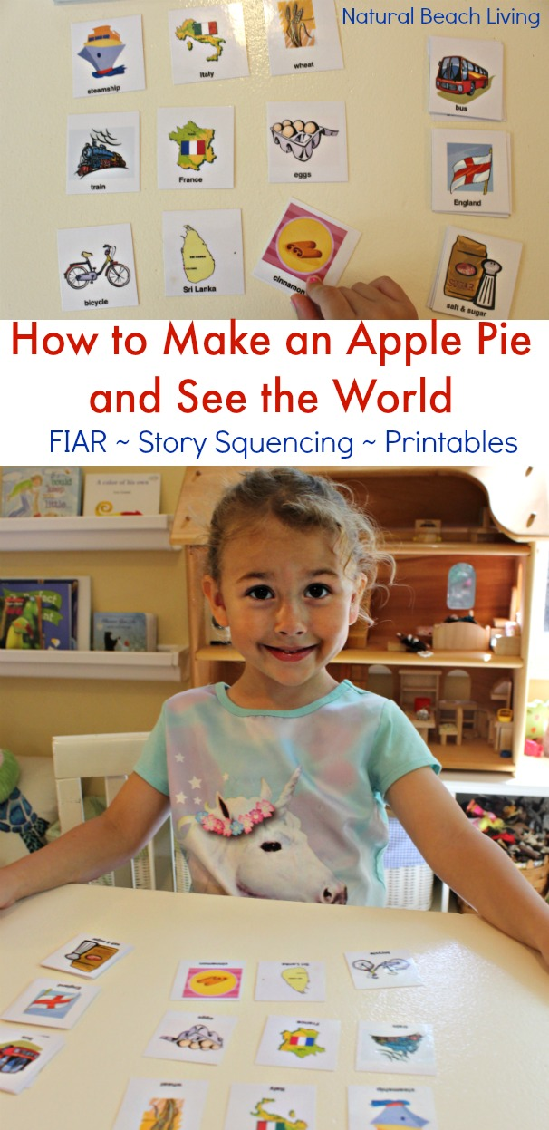The Best Apple Activities for Toddlers, Preschoolers and Kindergartners, FIAR, BFIAR, Free Printables, How to Make an Apple Pie, Homemade, Hands on Learning