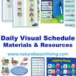 Perfect Daily Visual Schedule Materials & Resources