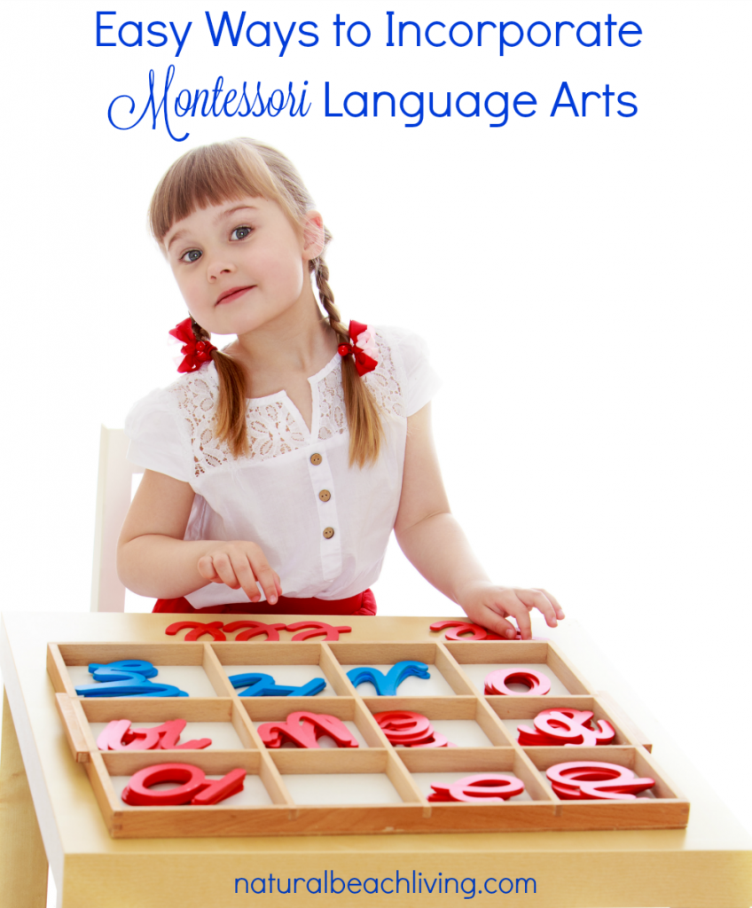 montessori language arts pin