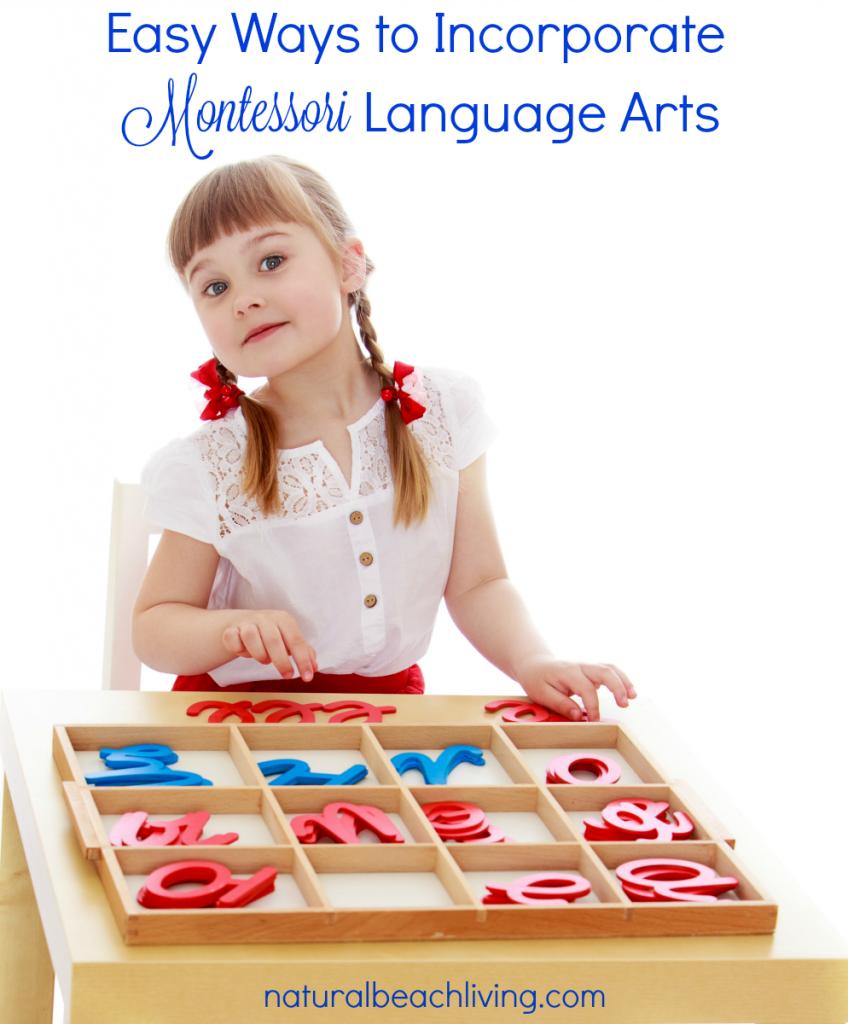 montessori language arts pin
