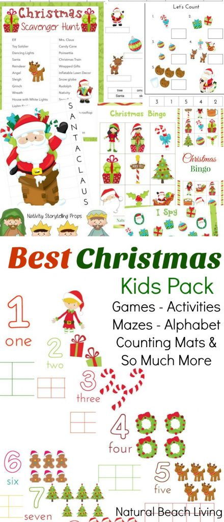 Christmas activities and printables for kids