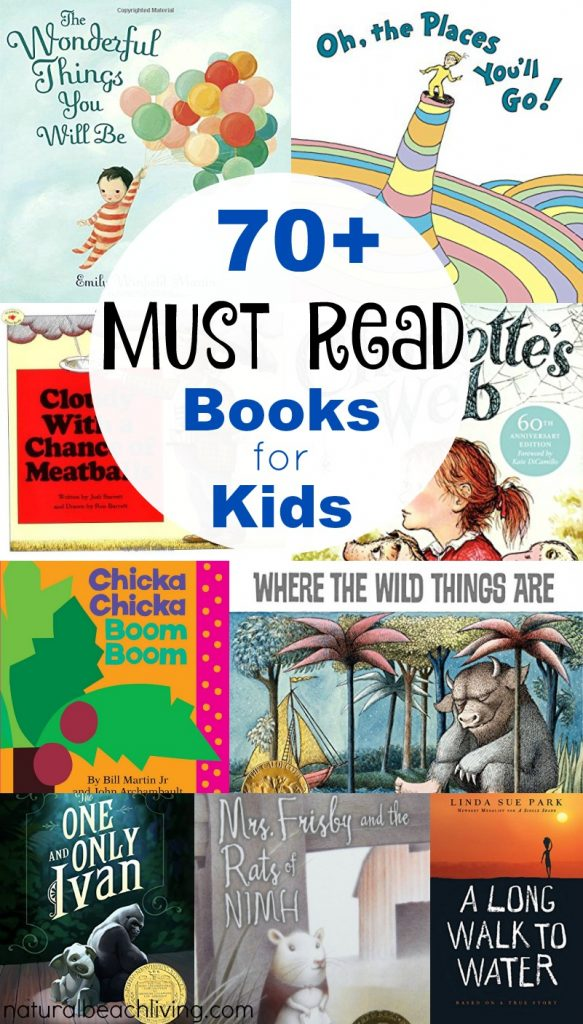 70 must read books for kids
