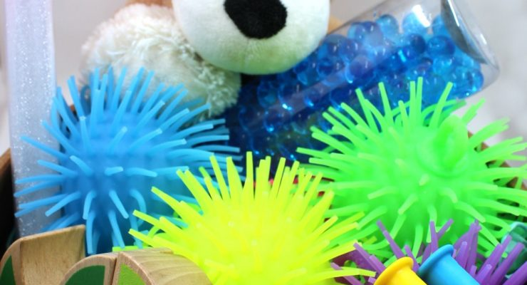 Easy Calm Down Kit for Sensory Needs and Fidgeting