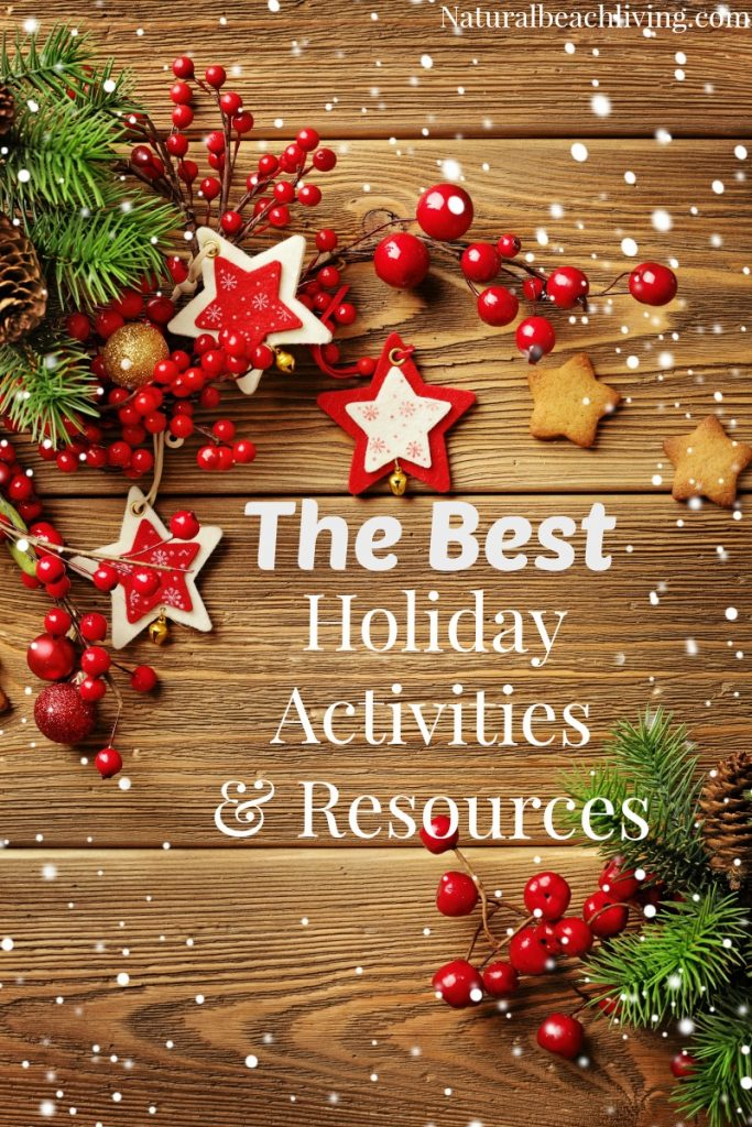 The Best Christmas Activities and resources, Christmas books, Christmas printables, Winter playdough and more