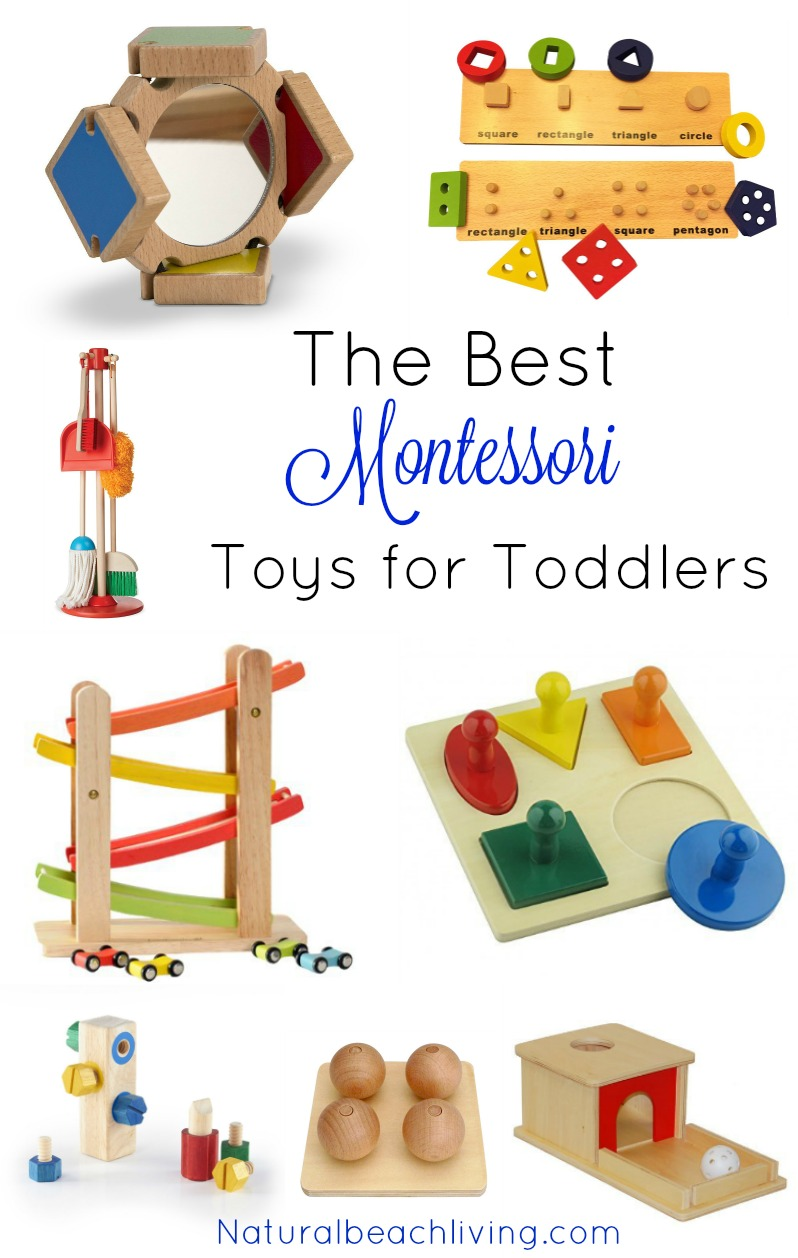 Toys For Toddlers : The best montessori toys for a year old natural beach