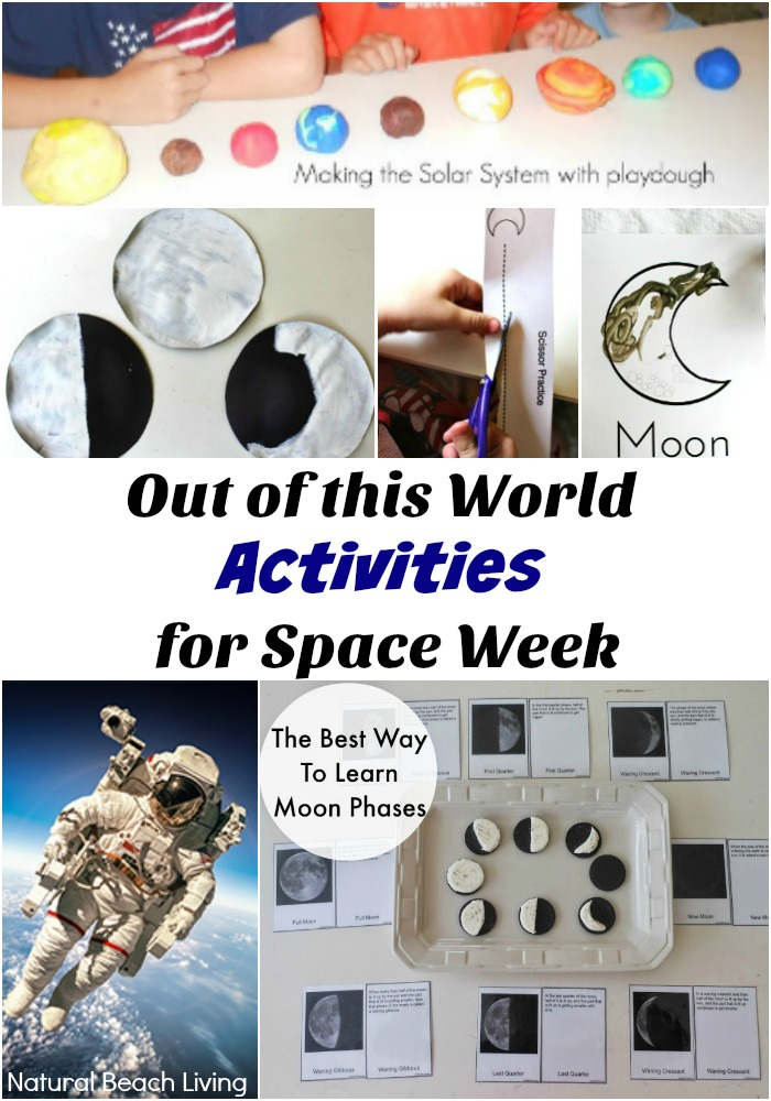Awesome Activities for World Space Week, make moon rocks, awesome astronomy books, Little Passports, Science, Printables, Solar System Unit Study, Crafts