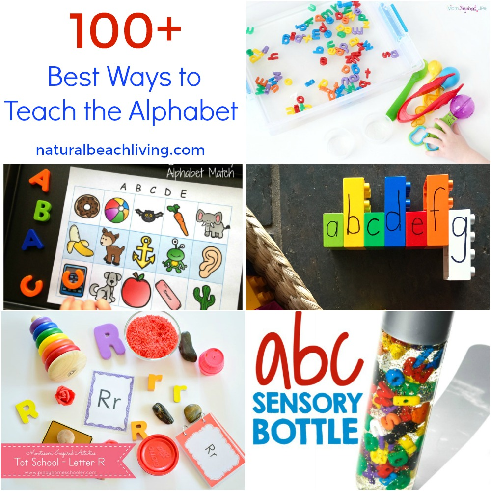Alphabet Activities Preschoolers Love  Natural Beach Living