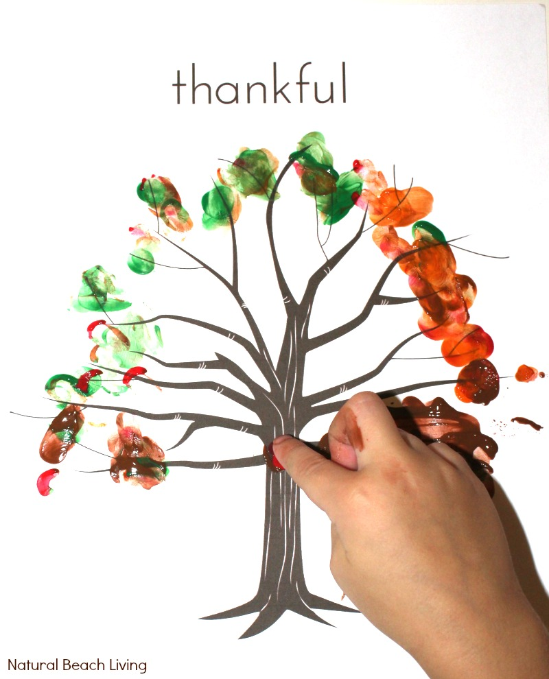 5 Fun Filled Thankful Thanksgiving Printables for Kids - Natural ...