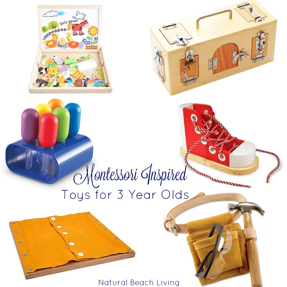 The Best Montessori Toys for 3 Year Olds - Natural Beach Living