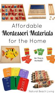 Great Montessori Materials That Are Easy On Your Budget