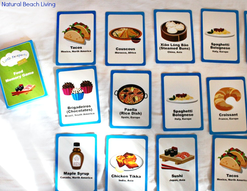 Preschool geography exploring food around the world for Around the world cuisine