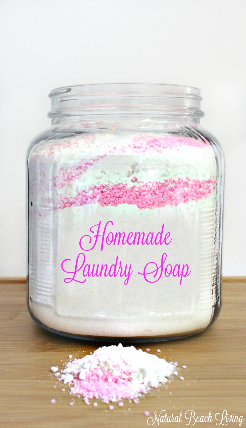 The Best Natural Homemade Laundry Soap Natural Beach Living
