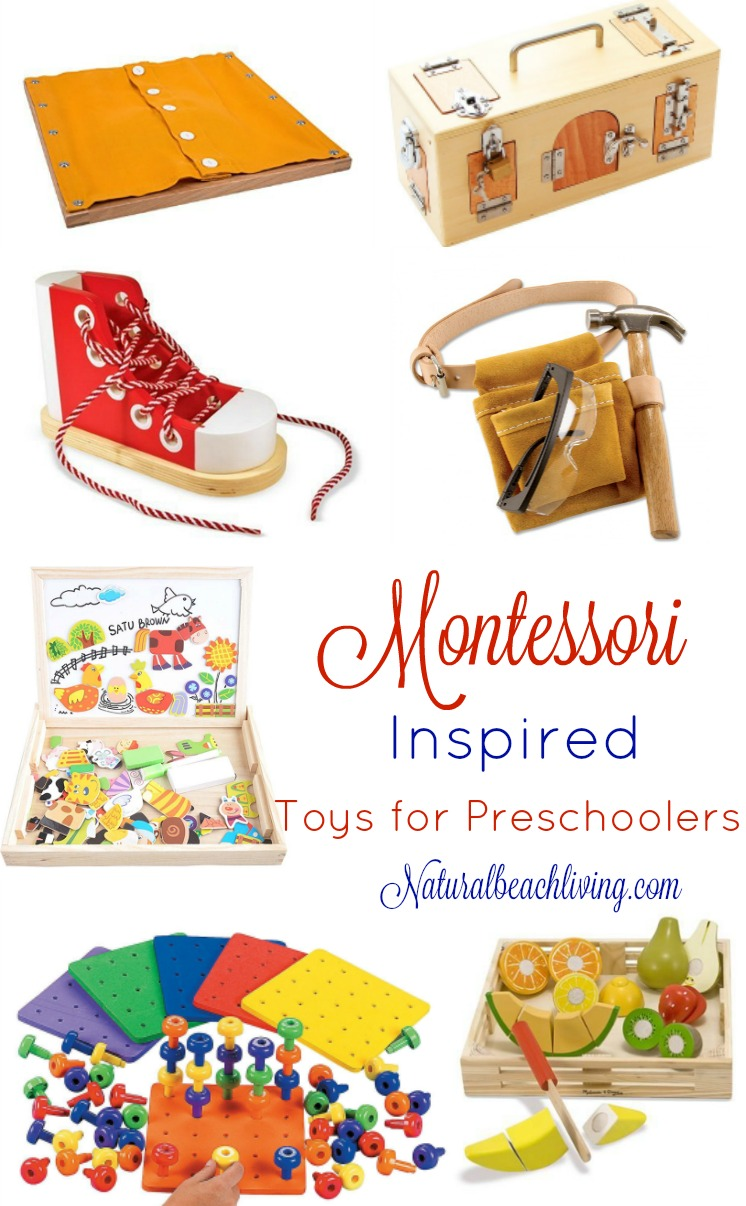 Toys For Preschoolers And Kindergarteners 3 5 : The best montessori toys for year olds natural beach