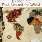 Preschool Geography – Exploring Food Around the World
