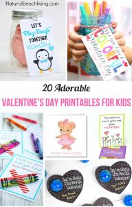 20 Of The Best Valentine Printables for Kids