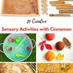 20 Super Creative Sensory Activities with Cinnamon
