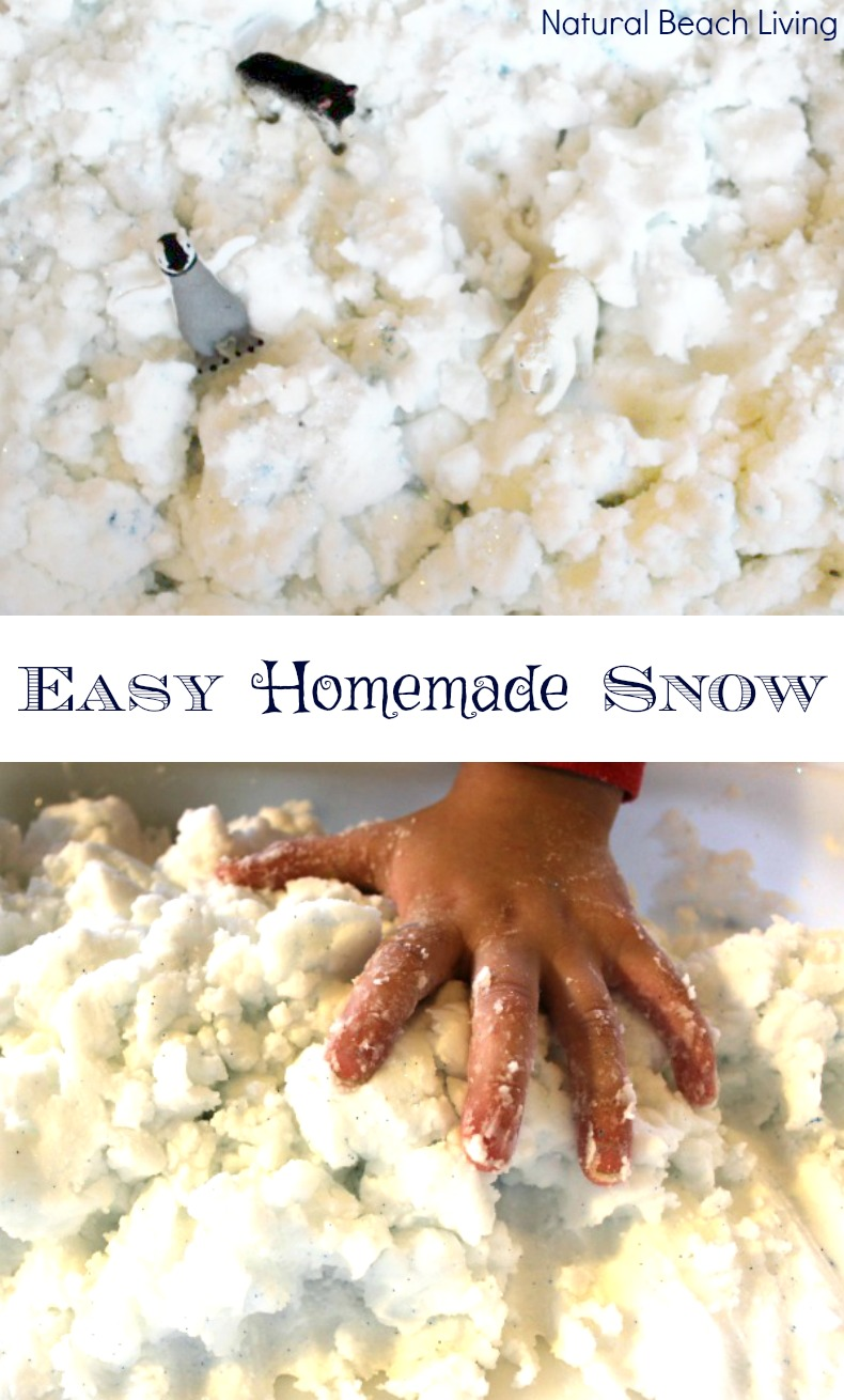 Easy to Make The Best Homemade Snow Dough
