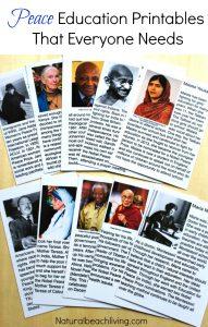 Montessori Peace Education Printables That Everyone Needs