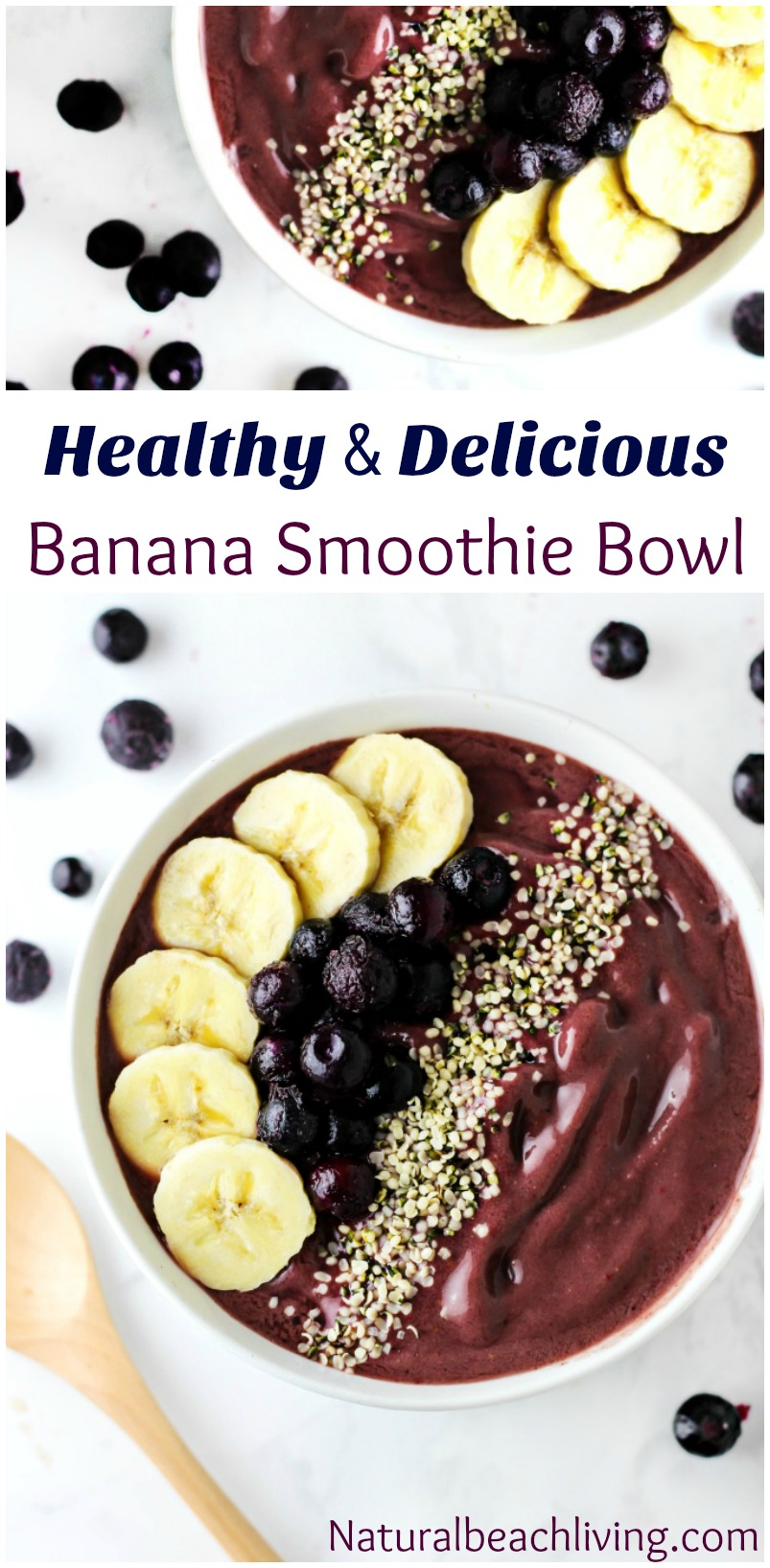 Amazing Strawberry Acai Smoothie Bowl Recipe