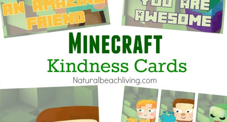 Minecraft Printables Free Random Acts of Kindness Cards