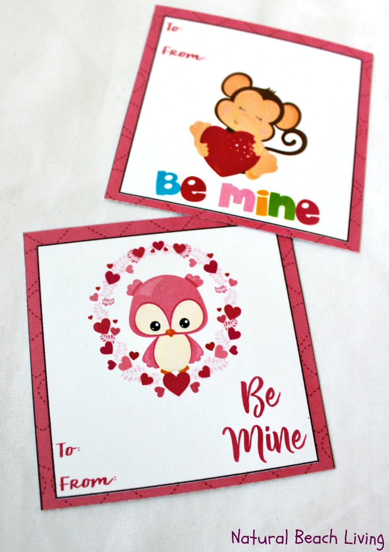 Adorable Preschool Valentines Day Cards free printables – Preschool Valentines Cards