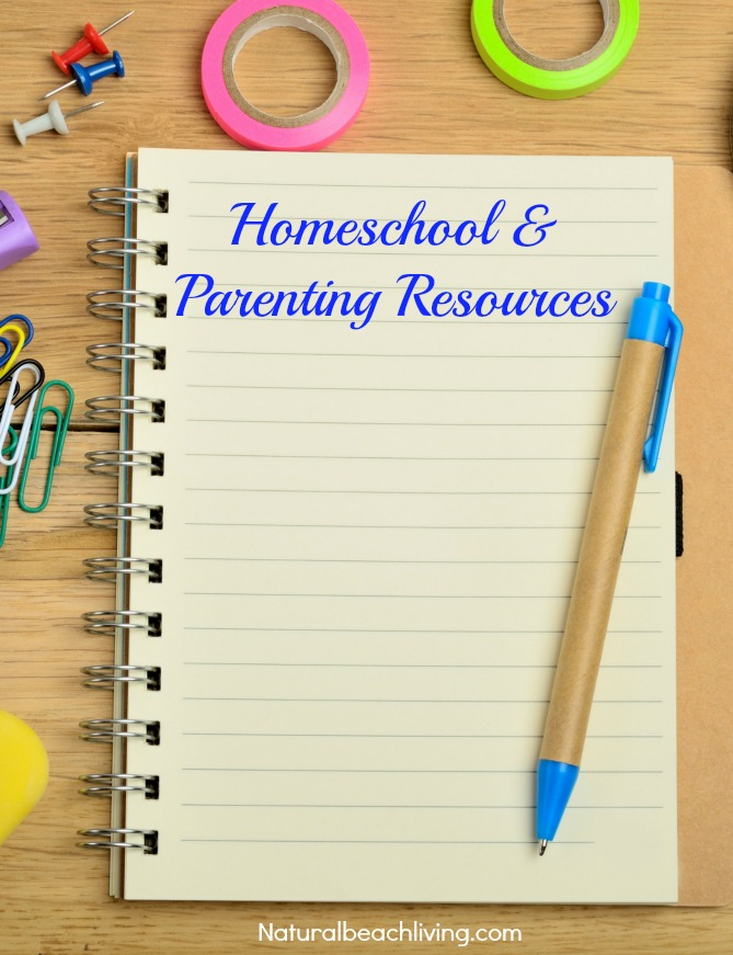 Homeschool & Parenting Resources
