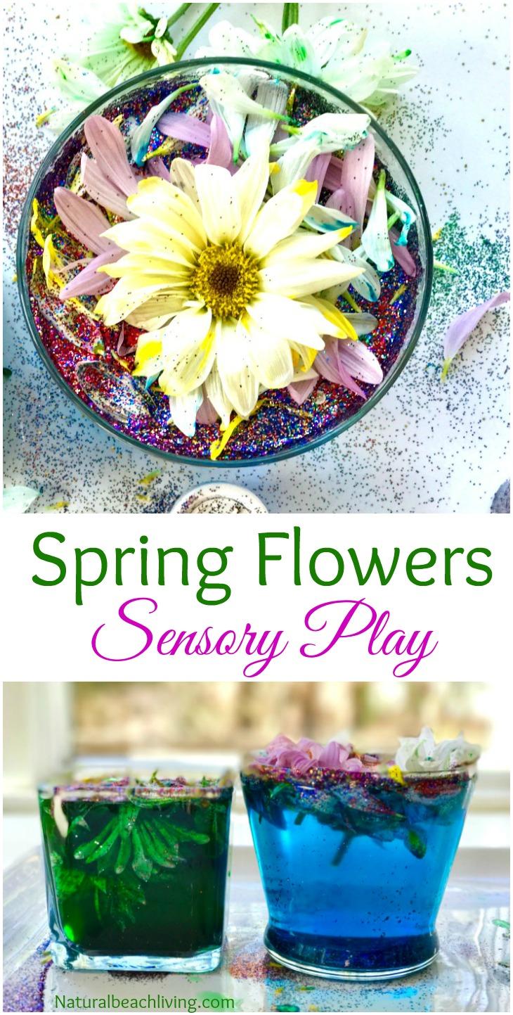 Spring Flowers Sensory Play & Kindness Activity