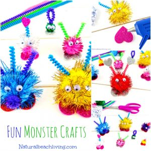Friendly Monster Crafts Preschoolers Will Love