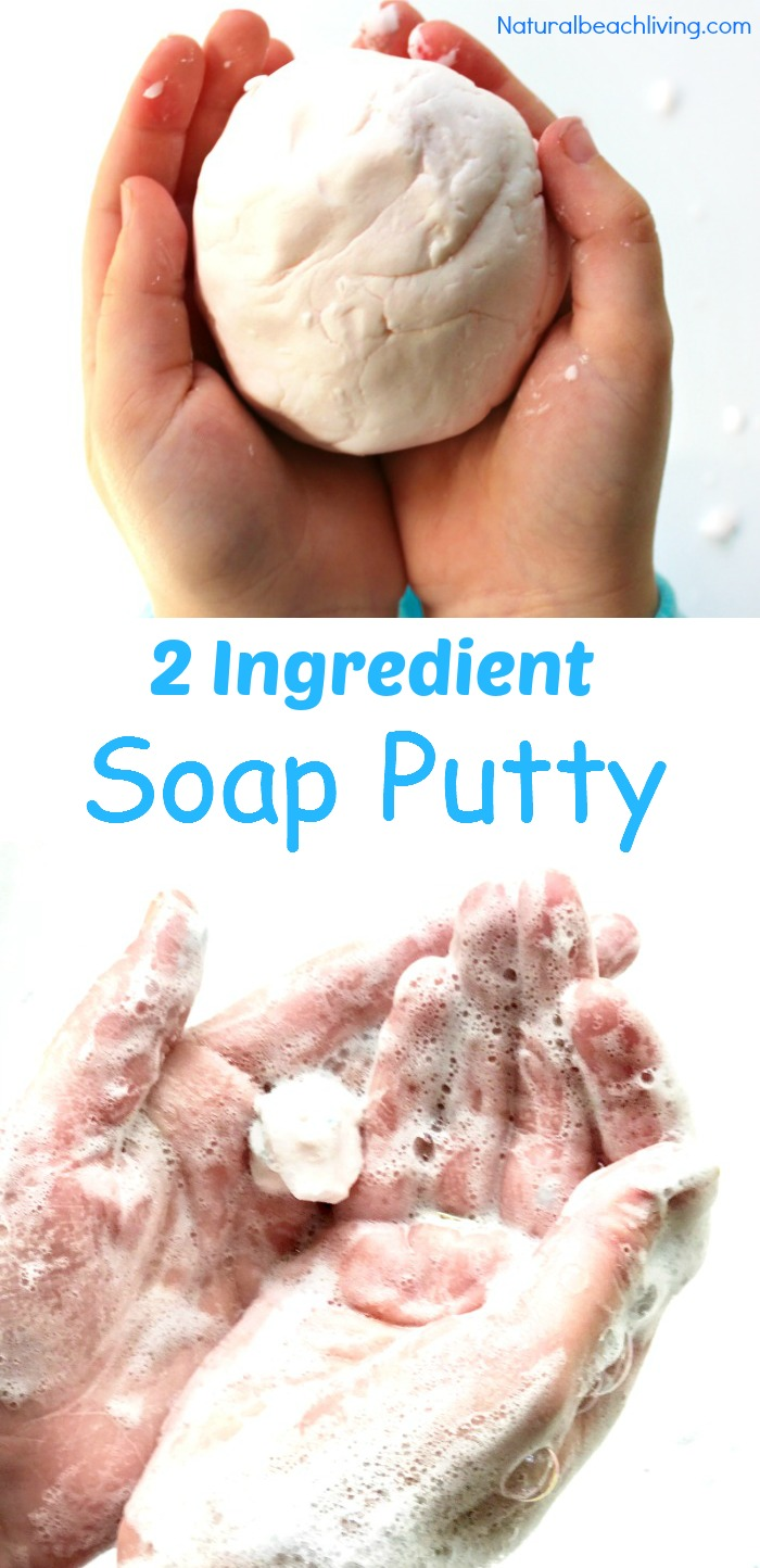 homemade soap putty