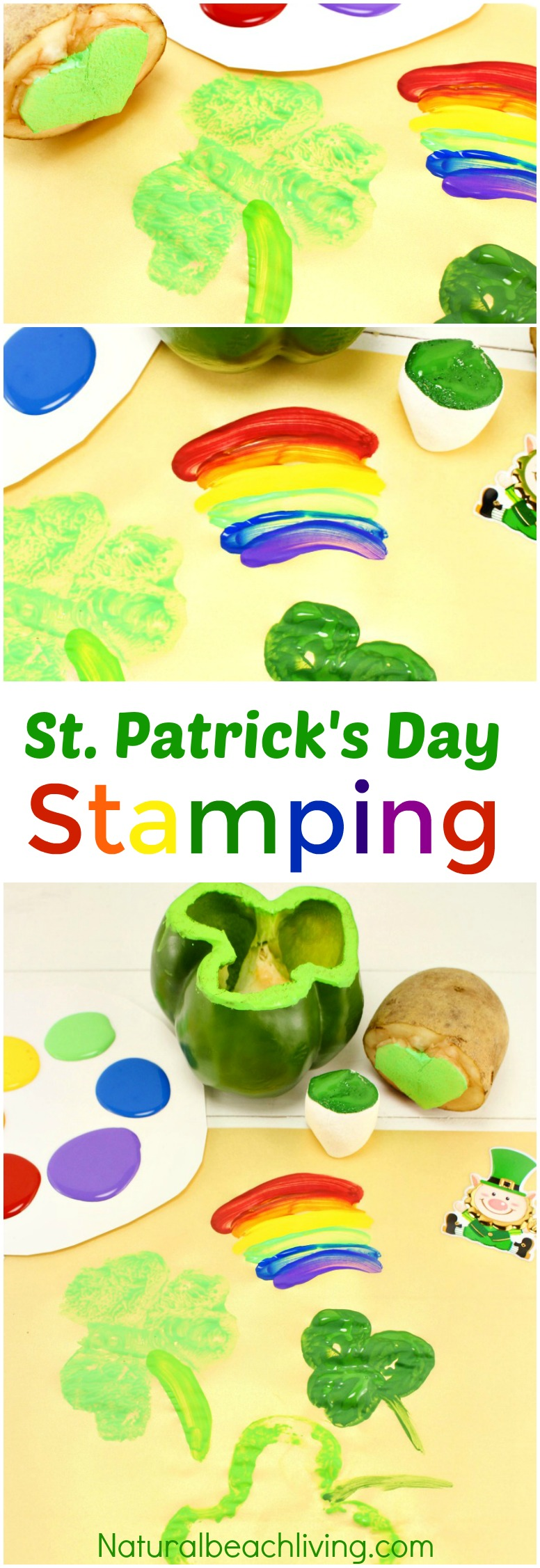 Perfect Kindergarten & Preschool St. Patrick\'s Day Crafts - Natural ...