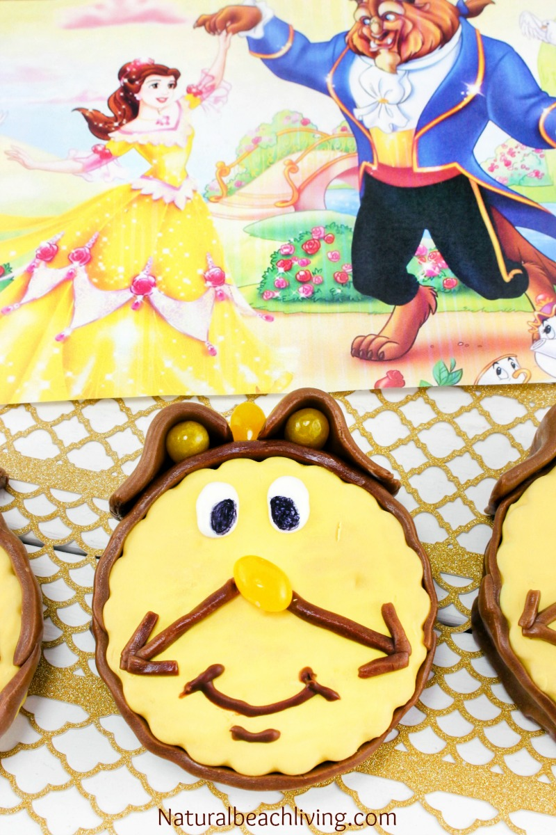Adorable Cogsworth Beauty and The Beast Snack Cake