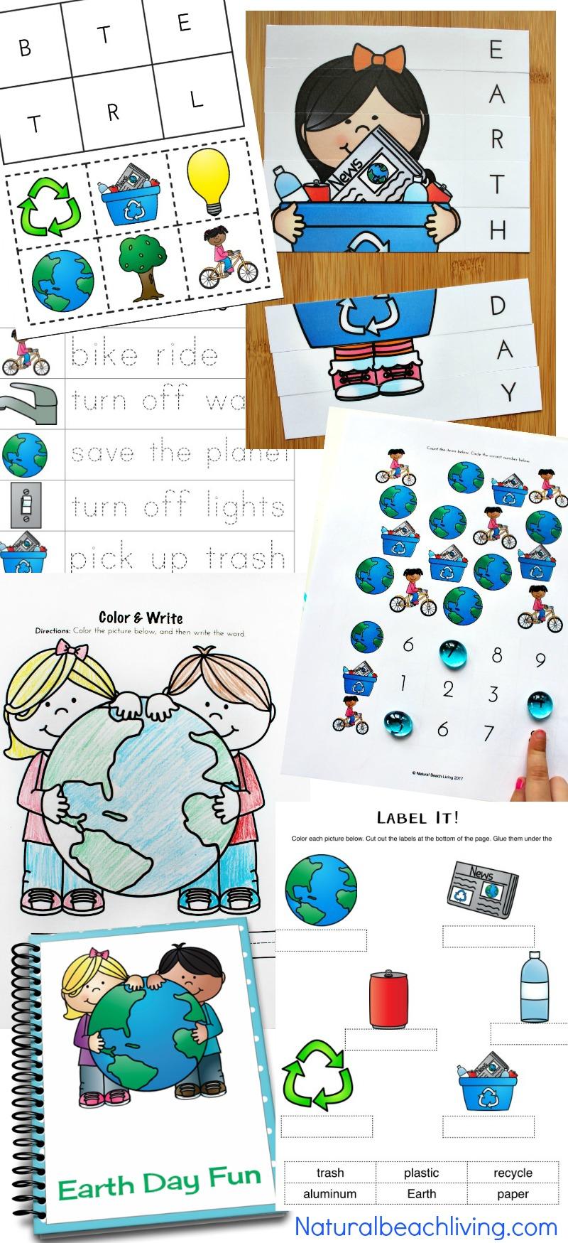 Earth Day Activities Preschool