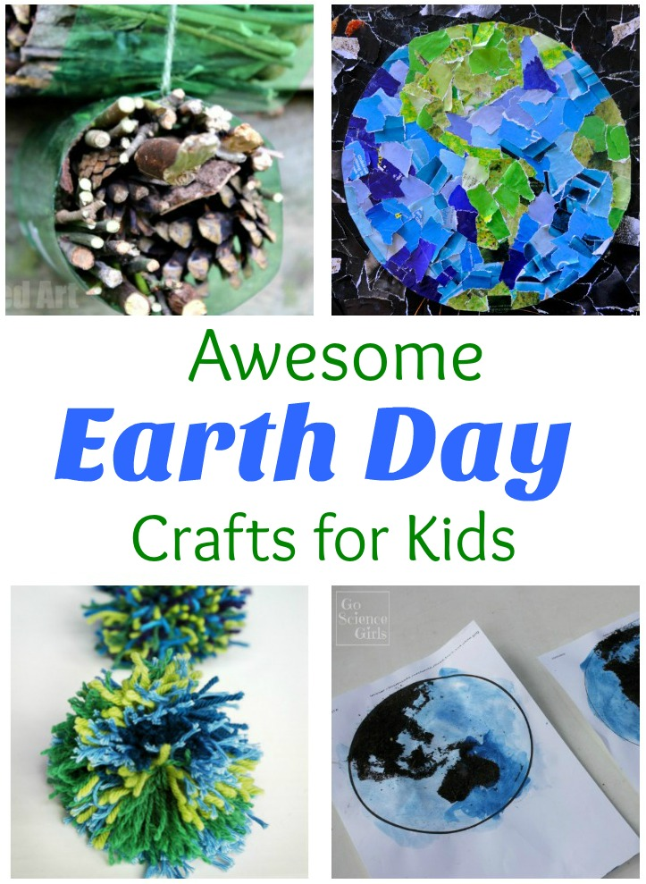 30+ Creative Earth Day Crafts for Kids