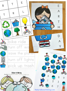 Earth Day Activities Preschool & Kindergarteners Love (Free Printables)