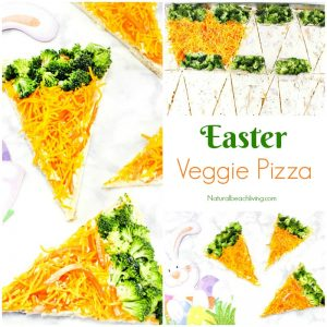 Delicious Quick and Easy Easter Veggie Pizza