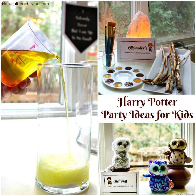 Harry Potter Party Ideas and free printables - PERFECT for any Harry Potter Fan