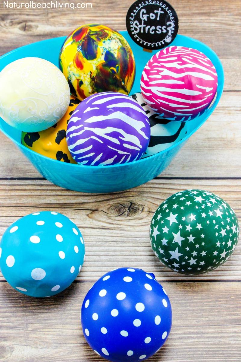 How to Make Stress Balls Everyone Loves, DIY stress balls