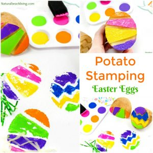 The Best Easter Egg Potato Stamp Ideas for Kids