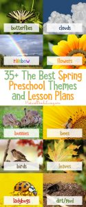 35+ The Best Spring Preschool Themes and Lesson Plans