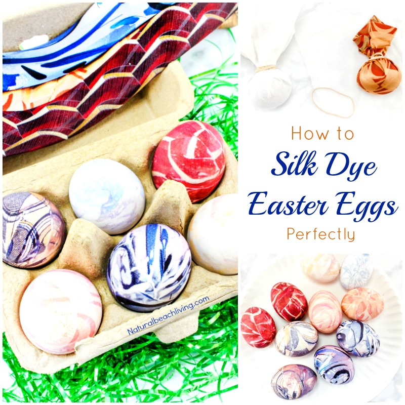 How to Silk Dye Easter Eggs Perfectly