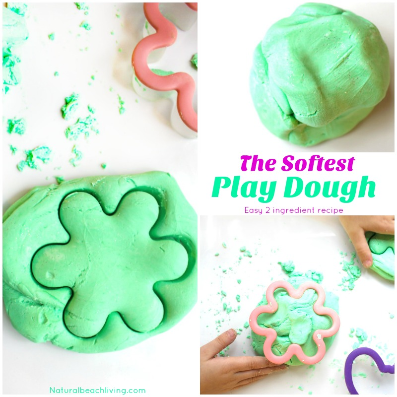 The softest Playdough recipe ever