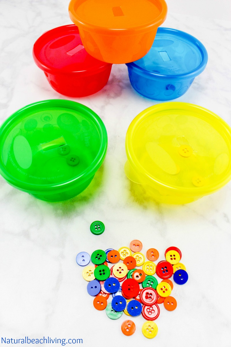 Easy Color Sorting Activities for Preschoolers & Toddlers - Natural ...