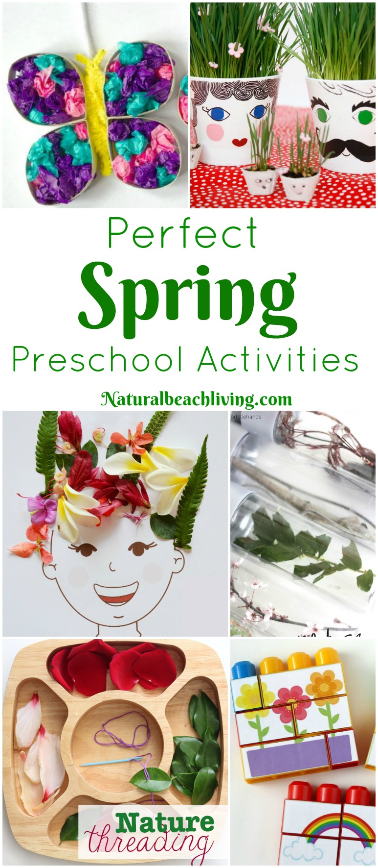 45+ Perfect Spring Preschool Activities, flowers, seeds, gardens, art, colors, Science, Nature ideas and more