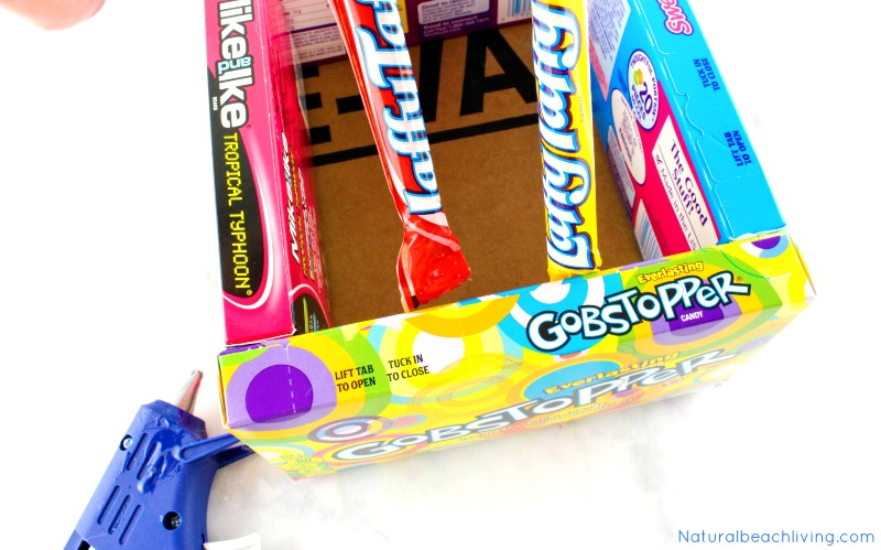 How to make the best diy candy box easter baskets natural beach living awesome diy candy box easter baskets diy edible easter egg basket that makes a cool negle Gallery