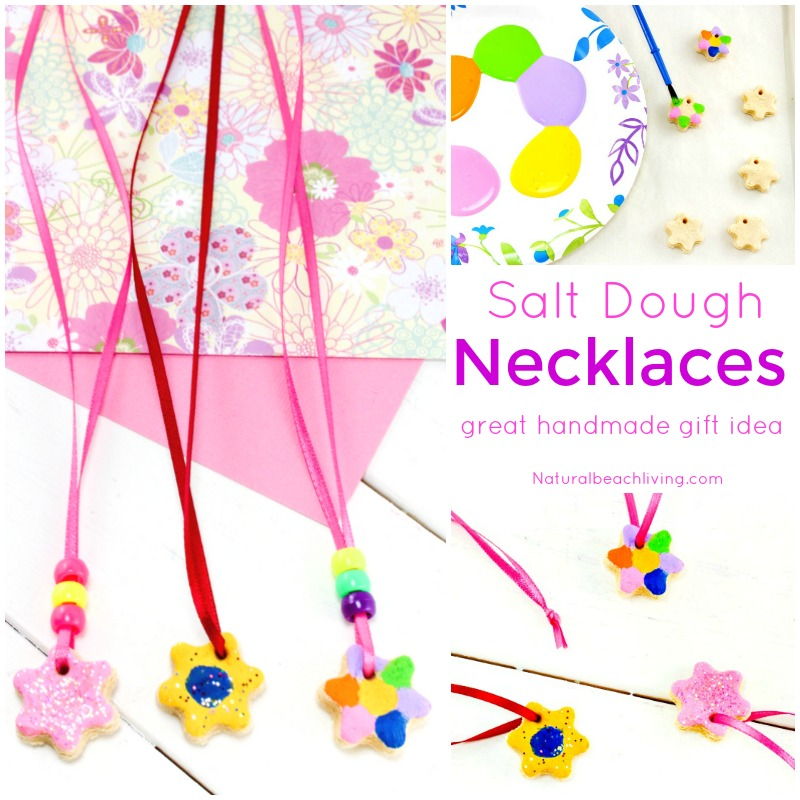 The Best Salt Dough Recipe Ornaments & Necklaces
