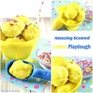 Amazing Scented Lemon Playdough Recipe